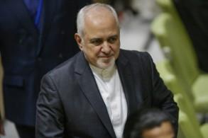 وزير الخارجية الإيراني محمد جواد ظريف في نيويورك في 17 يوليو 2019