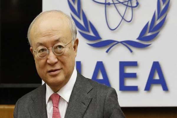 المدير العام للوكالة الدولية للطاقة الذرية يوكيا أمانو 3 مارس 2013 (أ ف ب)