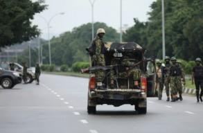 انتشار عسكري نيجيري في أبوجا خلال تظاهرة للشيعة للمطالبة بإطلاق سراح زعيم