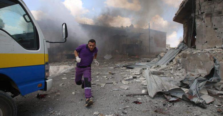 مقتل ستة عناصر من قوات النظام في تفجير انتحاري جنوب سوريا