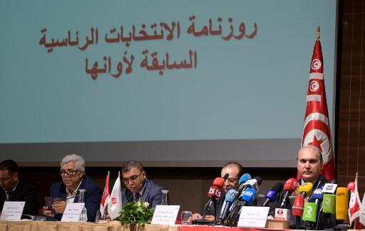 مؤتمر صحافي لهيئة الانتخابات التونسية للاعلان عن تاريخ الاقتراع