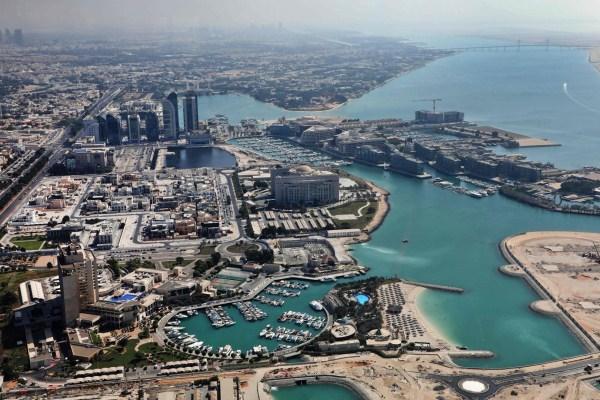 صورة عامة للعاصمة الإماراتية أبوظبي