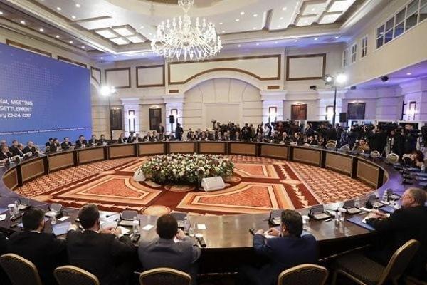جلسة لمحادثات أستانة حول الأزمة السورية
