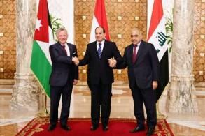 القمة العراقية المصرية الأردنية في القاهرة