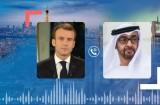 ولي عهد أبو ظبي يتباحث مع الرئيس الفرنسي بشأن إيران