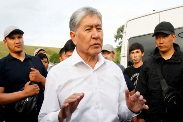 الرئيس القرغيزي السابق يستسلم للامن