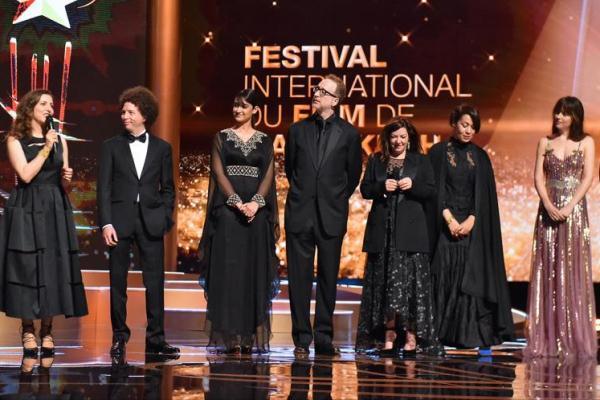 جانب من افتتاح مهرجان الفيلم الدولي في مراكش في دورة سابقة