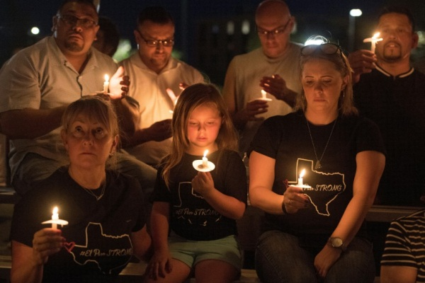 تجمع في ذكرى ضحايا حادث إطلاق النار في إل باسو في 5 أغسطس 2019