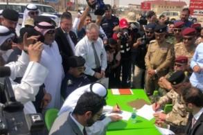 العراق يسلم الكويت العشرات من رفات أسراها المفقودين في حرب تحريرها عام 1991