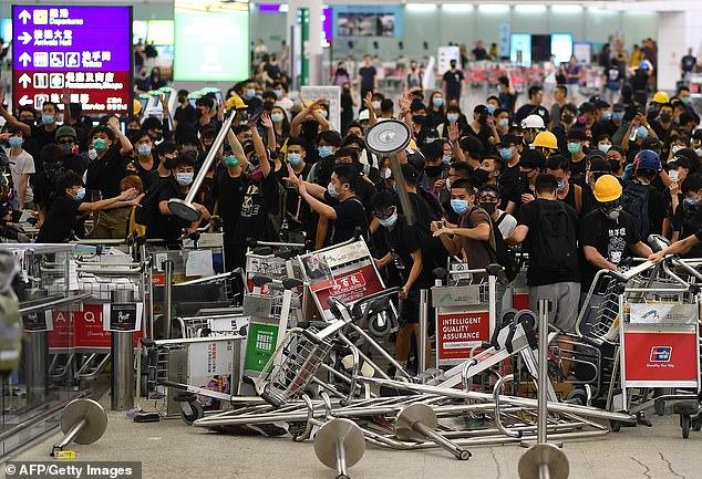 من احتجاجات هونغ كونغ