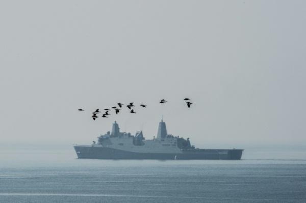 السفينة الحربية الأميركية