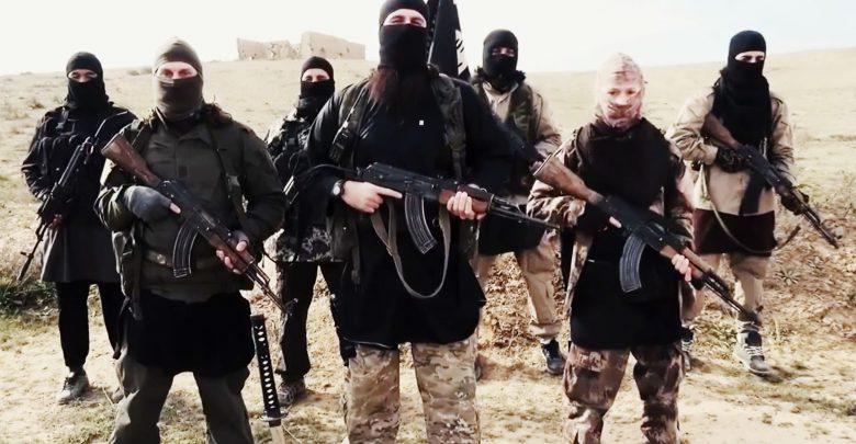 عناصر من تنظيم داعش - صورة ارشيفية