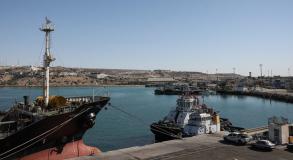 جانب من ميناء جابهار (وكالة مهر)