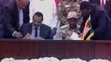 فرقاء السودان يوقعون اتفاق المرحلة الانتقالية