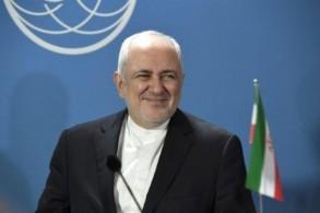 وزير الخارجية الإيراني محمد جواد ظريف في هلسنكي