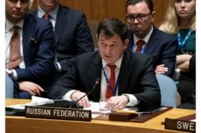 نائب السفير الروسي لدى الامم المتحدة دميتري بوليانسكي