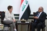العراق يبحث مع ألمانيا توسيع دور
