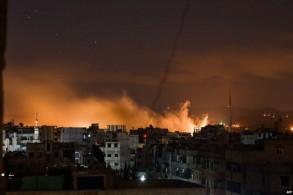 الطيران الإسرائيلي يشن غارات على دمشق