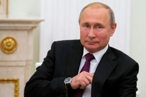 الرئيس الروسي فلاديمير بوتين خلال اجتماع في الكرملين 22 آب/أغسطس 2019