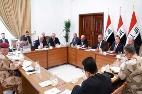 مجلس الامن الوطني العراقي مجتمعا برئاسة عبد المهدي