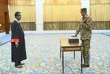 البرهان يؤدي اليمين رئيسًا للمجلس السيادي في السودان