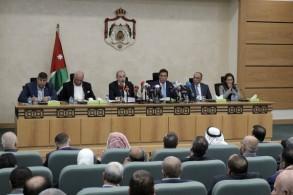 جانب من جلسة مجلس النواب الأردني (بترا)