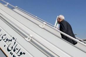 ظريف مغادرًا طهران في جولة لدول شمال أوروبا