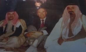 الراحل مع السفير الأميركي في زيارة سابقة لنجران