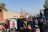 الحشد يشيّع قتلاه في ضربة إسرائيلية لأهدافه في غرب العراق