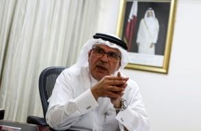 السفير القطري في قطاع غزة محمد العمادي يتحدث لفرانس برس