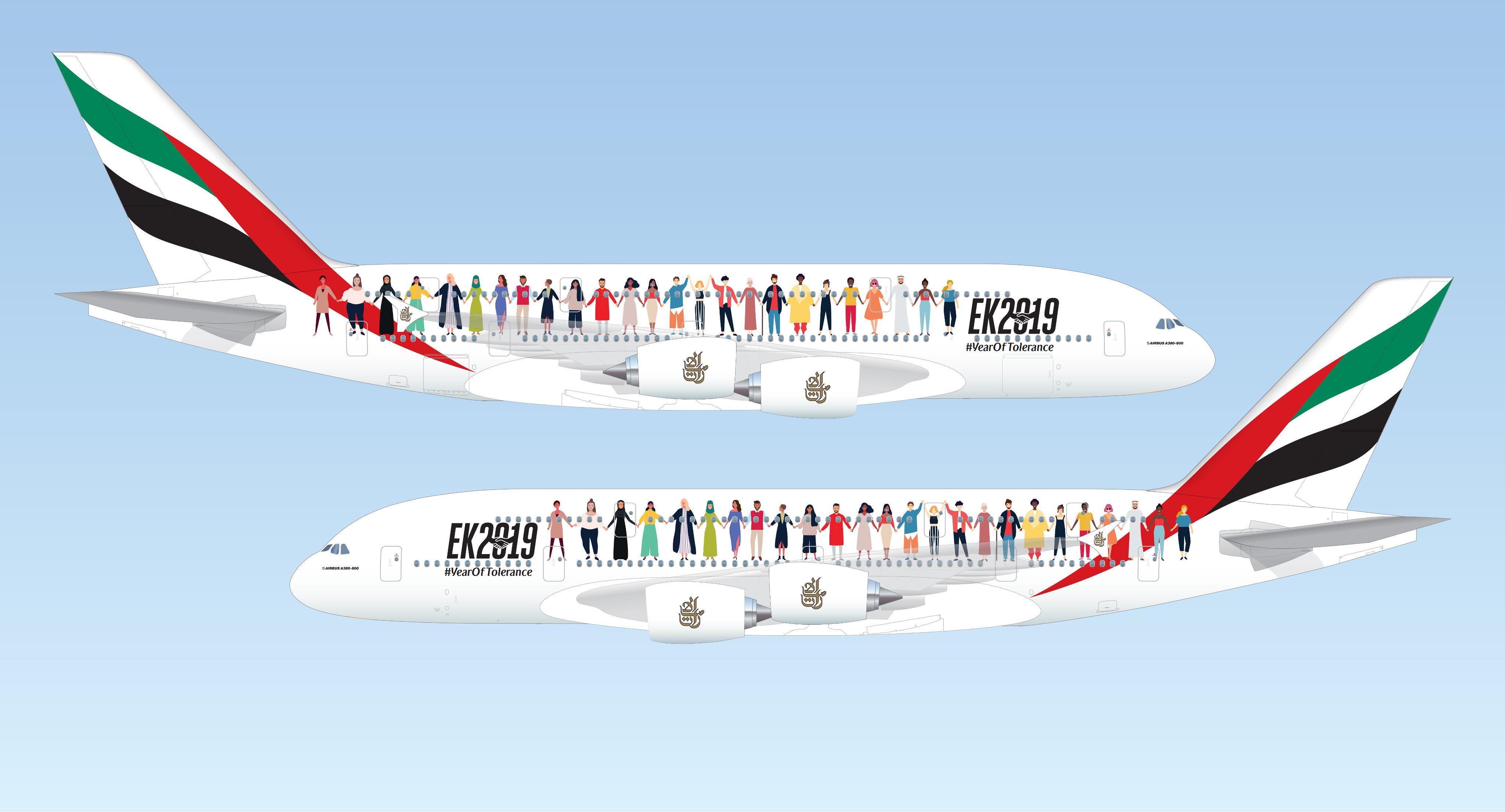 """طيران الإمارات"""" تنظم رحلة فريدة للتسامح"""