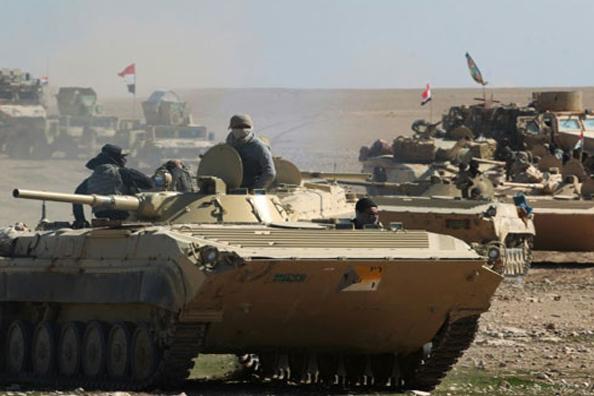 انطلاق عملية عسكرية لمطاردة خلايا داعش في شمال بغداد