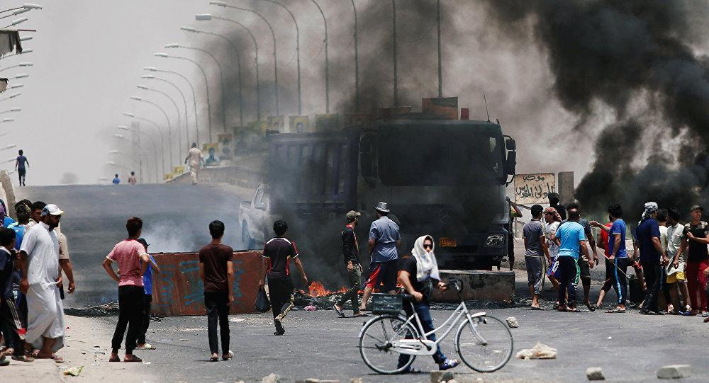 احتجاجات عراقية ضد الفساد