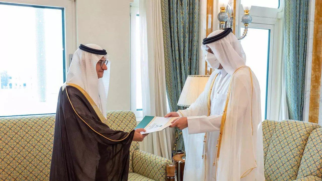 السعودية نيوز |  السعودية تعين سفيرًا لها في قطر