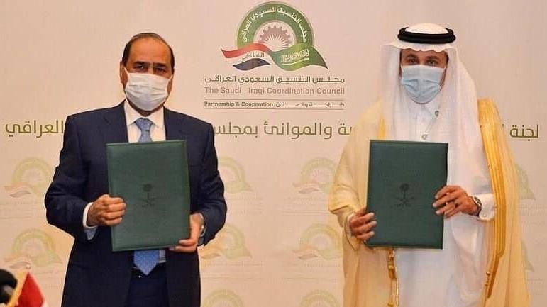 السعودية نيوز |  العراق والسعودية يوقعان اتفاقًا للنقل البحري والبري
