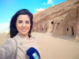 المذيعة بوخزام: «السعودية الرابعة» جعلتني مصدراً لأخبار العلا