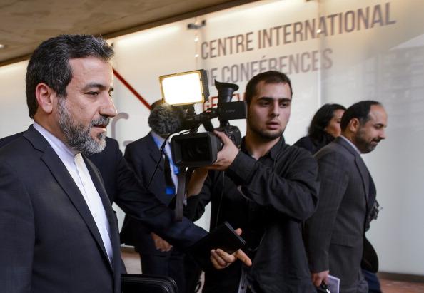 نائب وزير الخارجية الإيراني عباس عراقجي في جنيف امس