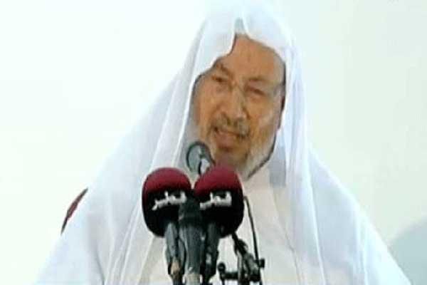 القرضاوي في آخر خطبة جمعة له في الدوحة