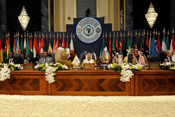 أمير الكويت يختتم القمة العربية الأفريقية الثالثة