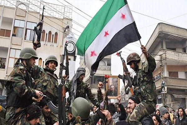 عناصر من الجيش السوري النظامي