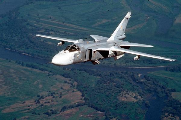 مقاتلة ايرانية من طراز سوخوي 24