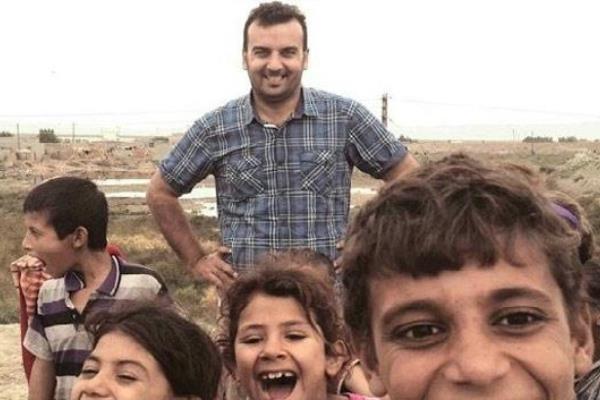 الصحافي العراقي ياسر الجميلي