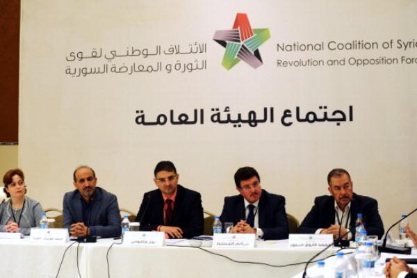 اجتماع سابق للهيئة العامة للائتلاف السوري المعارض