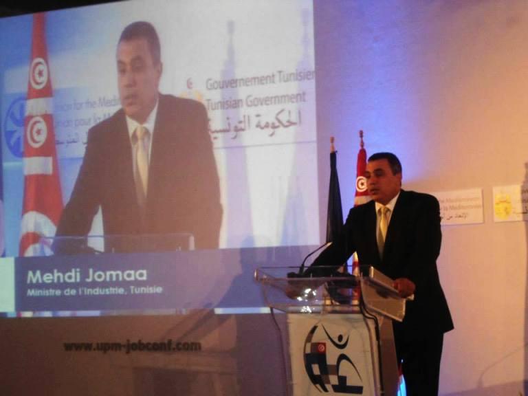 مهدي جمعة وزير الصناعة في حكومة علي العريض ورئيس الحكومة الجديد بالتوافق