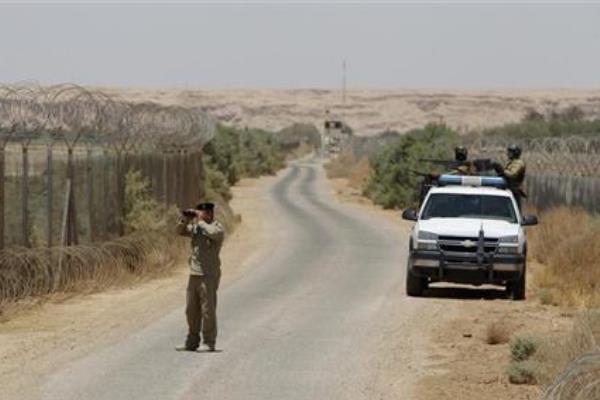الحدود مع سوريا من الجانب العراقي
