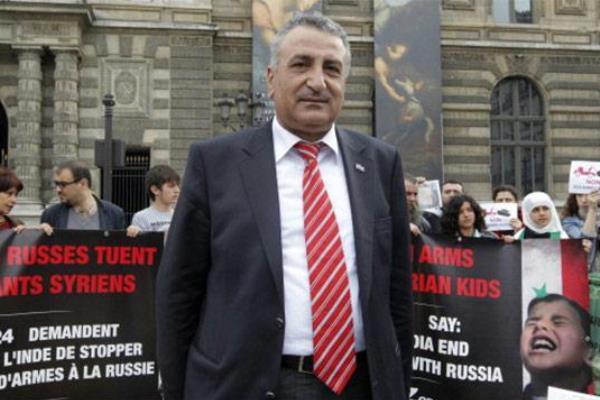 عضو الائتلاف الوطني السوري المعارض كمال اللبواني