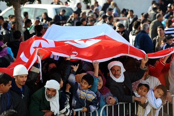 تظاهرة في تونس