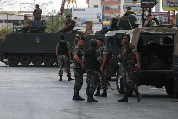 استهداف الجيش اللبناني في صيدا