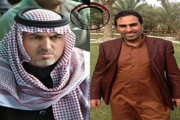 احمد العلواني وشقيقه القتيل علي