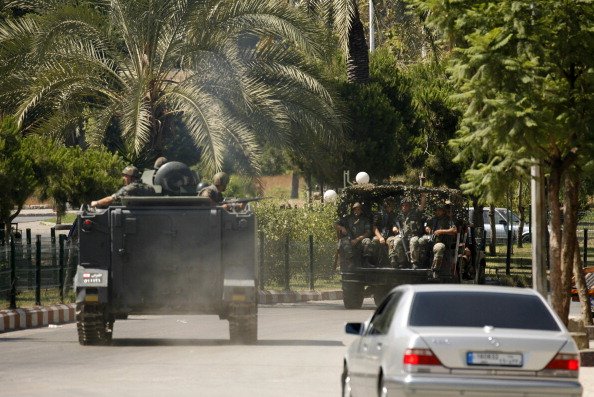 تعزيزات للجيش اللبناني في منطقة عبرا في مدينة صيدا